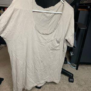 Boyfriend fit boxy shirt